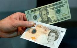 Đồng USD lập đỉnh 1 tháng so với bảng Anh