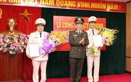 Điều động, bổ nhiệm 02 Phó Tổng cục trưởng Tổng cục Cảnh sát