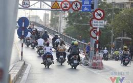 Người dân lo đi làm muộn vì cấm xe máy lên cầu vượt tuyến BRT đi qua
