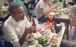"""Bữa tối """"bình dân"""" của Tổng thống Obama tại Hà Nội chỉ có giá…6 USD"""