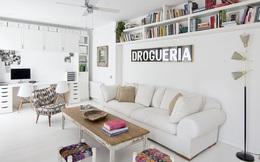 Căn hộ 45m² với nội thất trắng đẹp mê ly đến từng chi tiết nhỏ