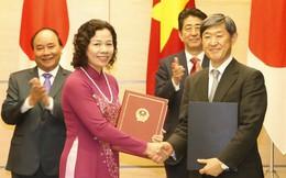 Việt - Nhật ký kết 5 văn kiện