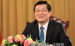 Quốc hội thông qua việc miễn nhiệm Chủ tịch nước Trương Tấn Sang