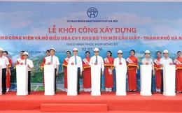Hà Nội: Xây công viên, hồ điều hòa hơn 900 tỷ đồng