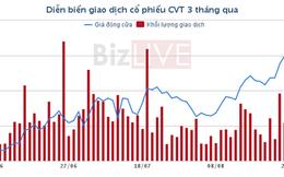 Cổ phiếu nổi bật tuần: Giá trên 40.000 đồng/cổ phiếu, CVT làm lợi cho cả dân đầu cơ và giá trị