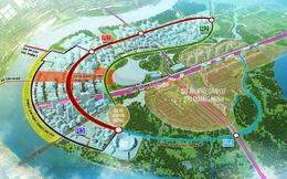Ngắm toàn cảnh Đại lộ vòng cung (Thủ Thiêm) là nơi sẽ tổ chức duyệt binh có khí tài