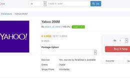 Dữ liệu 200 triệu người dùng Yahoo bị rao bán chợ đen