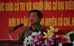 Ông Đinh La Thăng đề nghị cử tri giám sát lời hứa của mình