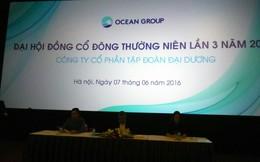 ĐHCĐ Ocean Group: Giá cổ phiếu OGC không tương xứng giá trị, Chủ tịch có thể nhận lương bằng cổ phiếu không?