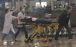 [Video] Hình ảnh vụ nổ gây náo loạn sân bay Thượng Hải