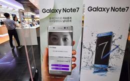 """Galaxy Note 7 bán trở lại từ 28/9 sau khi iPhone 7 """"làm mưa làm gió"""""""
