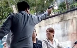 GĐ công ty bảo vệ nổ súng dọa phụ nữ dùng thẻ công an giả, đối mặt nhiều tội danh