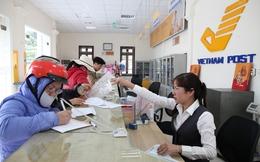 Phòng giao dịch bưu điện được thực hiện nghiệp vụ ngân hàng