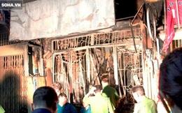 Cháy lớn ở trung tâm Sài Gòn, 6 người tử vong, 4 người bị thương