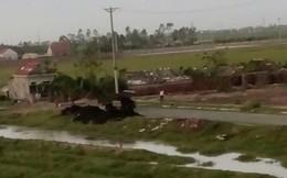 Lại thêm vụ chôn chất thải ở Nam Định