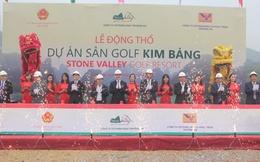 Hà Nam: Khởi công dự án sân Golf Kim Bảng với tổng vốn 1.000 tỷ đồng