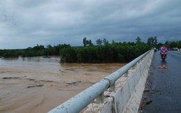 Lũ lên bất ngờ nhấn chìm nhiều khu vực trung tâm Cam Lộ