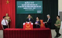 """Chủ tịch nước Trần Đại Quang: """"Cử tri hãy lựa chọn người đủ đức, đủ tài"""""""