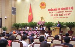 Chủ tịch Hà Nội Nguyễn Đức Chung nói gì sau khi tái đắc cử?