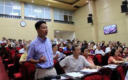 Hà Nội: Đường vành đai 3 làm nóng hội nghị tiếp xúc cử tri