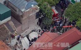 Sau vụ sập nhà tại Cửa Bắc, chủ tịch Hà Nội yêu cầu khẩn trương rà soát nhà cũ