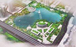 Giữa năm 2017 công viên hồ điều hóa Nhân Chính (Hà Nội) sẽ hoàn thành