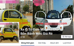 Đừng mua ôtô điện rao bán trên mạng
