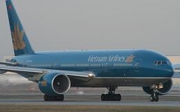 Máy bay của Vietnam Airlines bị...mất chỉ thị áp suất ở lốp