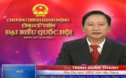 Ông Trịnh Xuân Thanh xin không ứng cử phó chủ tịch tỉnh Hậu Giang