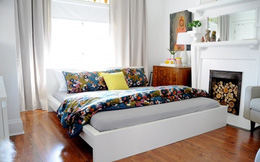 Thêm đồ gì cho phòng ngủ nhỏ ấm cúng lúc thu sang?