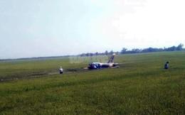 Rơi máy bay quân sự, 1 học viên phi công tử vong