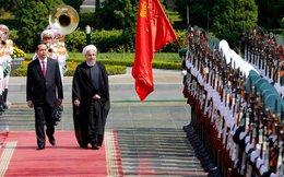 Chính thức đón Tổng thống Iran tại Phủ Chủ tịch