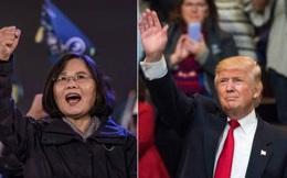 Điện đàm với lãnh đạo Đài Loan, ông Trump chọc giận Trung Quốc