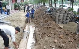Vỉa hè Hà Nội: Điệp khúc lát, đào, chỉnh trang