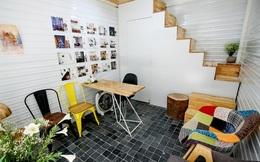 Ngôi nhà 10m² không xây bằng gạch có không gian cực đẹp và thoáng ở Cầu Giấy, Hà Nội