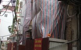 Hà Nội: Ai trả chi phí tháo dỡ nhà nghiêng ở ngõ Quan Thổ 1?