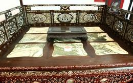 """""""Long sàng"""" nặng gần 1 tấn giống hệt giường của công tử Bạc Liêu"""