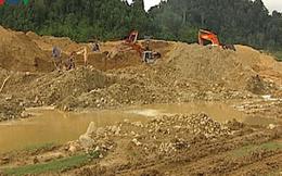 Việc khai thác vàng tận thu tại xã A Tiêng là trái phép