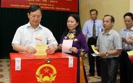 Hướng dẫn chi phục vụ bầu cử đại biểu Quốc hội khóa XIV
