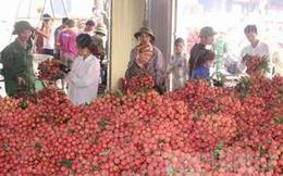 Kéo dài thông quan vải tươi tại Cửa khẩu quốc tế Kim Thành (Lào Cai)