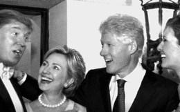 Trò chơi vương quyền khoác áo tình bạn giữa Donald Trump và Hillary Clinton