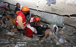 Sập nhà 7 tầng ở Kenya, hàng trăm người bị vùi lấp