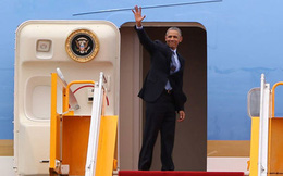 Tổng thống Obama rời Việt Nam
