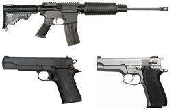 Hàng chục khẩu súng trong 16 vụ xả súng ở Mỹ đã được mua một cách hoàn toàn hợp pháp như thế này