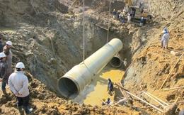 Đường ống nước sạch sông Đà gặp sự cố lần thứ 17