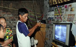 """Thị trường anten, dây cáp ồ ạt """"ăn theo"""" số hóa truyền hình"""