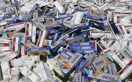 Kiến nghị tái xuất thuốc lá ngoại nhập lậu