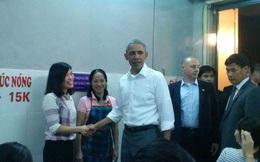 """Chủ quán bún chả: """"Tổng thống Obama đã tự trả bằng tiền Việt cho tôi"""""""