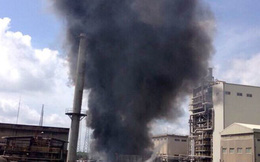 Cháy bên trong Công ty Vedan VN