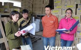 Hà Nội thu hơn 2.000 sản phẩm bánh nhập khẩu hết hạn sử dụng